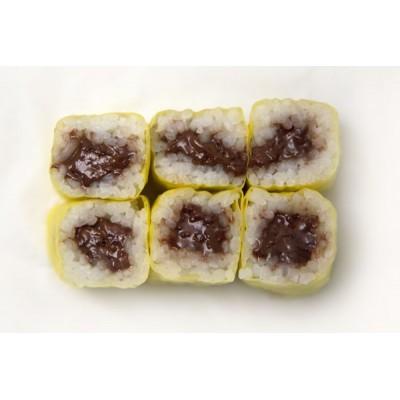 Maki crème de chocolat croquant